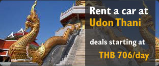 Rent a car at Udon Thani